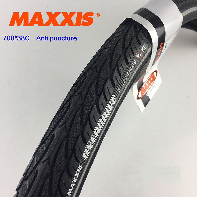 MAXXlS OVERDRIVE bicycle tire 700X38C anti puncture Mountain Bike tires ultralight Long distance wagon cycling Tyre