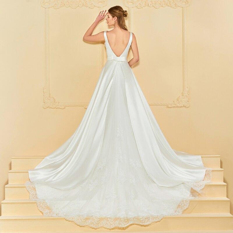 Imbracaminte rochie de mireasa rochie de mireasa Dressv V rochie de - Rochii de mireasa - Fotografie 3