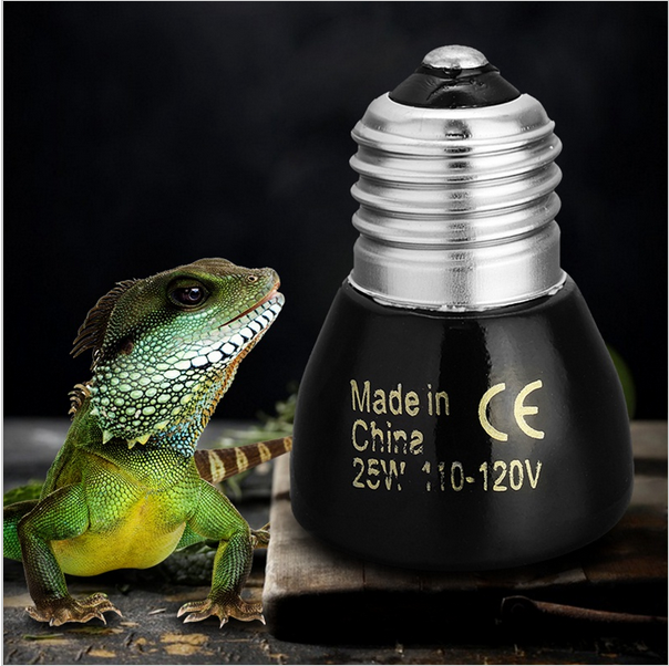 20W/50W E27 Far-Infrared Ceramic Pet Heating Lamp for Ortoise Lizard Spider Reptile Pet Brooder Box Warmer Light Bulbs