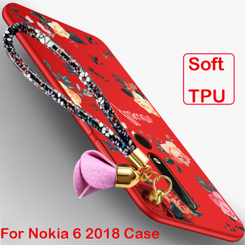 For Nokia 6 2018 Case,MCWL Silicone TPU Inclusive Drop resistance Creative Back Cover case for Nokia6 2018