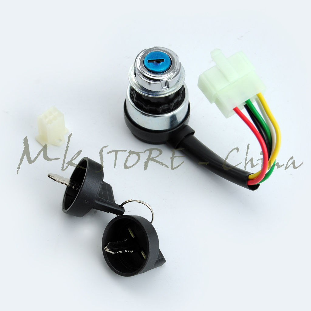 Ignition Switch Key 5 Wire 110cc 125cc 150cc Pit Quad Dirt Bike Atv Buggy Atv,rv,boat & Other Vehicle