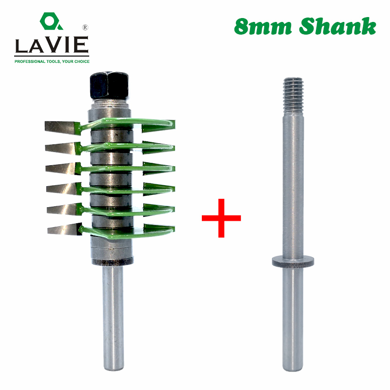 Image 4 - LAVIE 1pc 8mm Shank Brand New 2 Teeth Adjustable Finger Joint Router Bit Tenon Cutter Industrial Grade for Wood Tool MC02036-in Milling Cutter from Tools