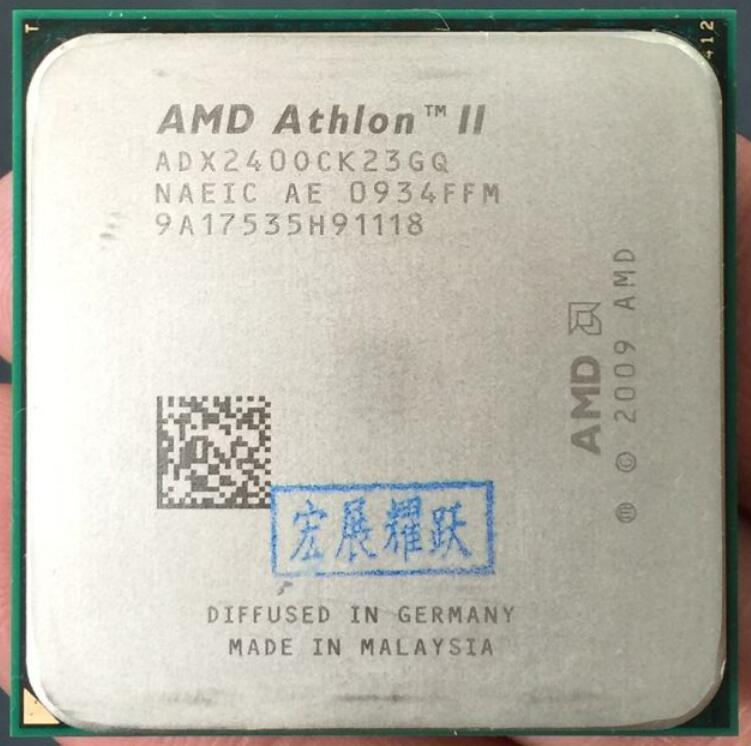 AMD Athlon II X2 240  X240 Dual-Core Desktop CPU AM3 938 CPU 100% Working Properly Desktop Processor