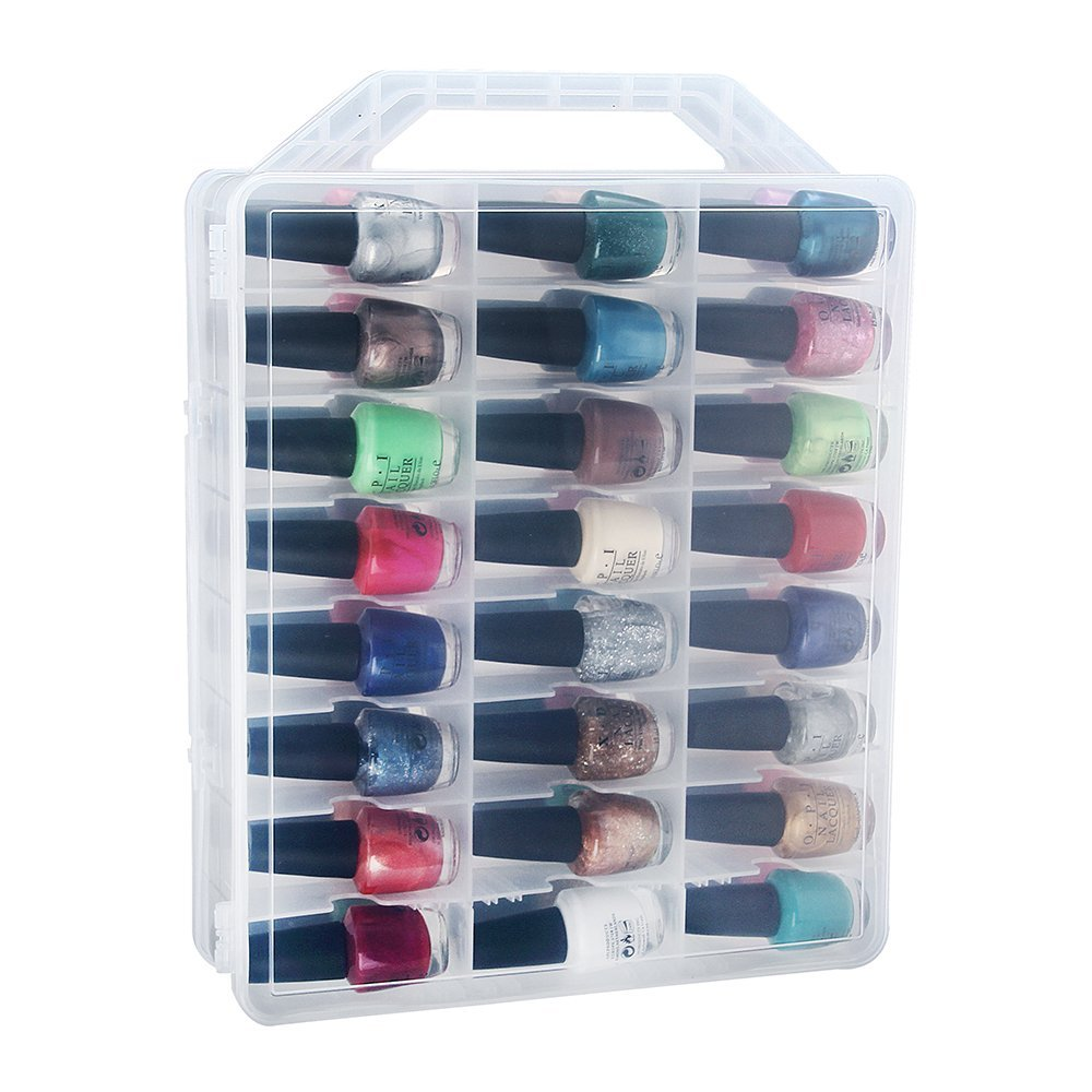 Universal Nail Polish Holder For 48 Bottles With
