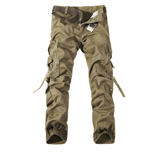 Image 3 - גברים מכנסיים מטען מכירה לוהטת בתוספת גודל 28 42 רופף מותג Homme צבאי מכנסיים צבא מותג בגדים מזדמנים לעבוד מכנסיים גברים