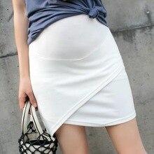 Afei Tony Новая модная летняя юбка женская сексуальная юбка для беременных Повседневная Высокая талия короткая юбка