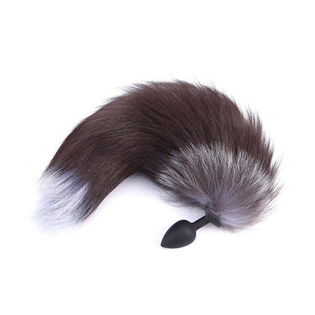 2Pcs Fox Tail Anal Plugs and Vibrating Bullets
