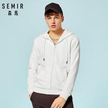 SEMIR 2019 Autumn Sweatshirt Sportswear Hoodies Man Hoodie Cardigan Men Casual Zipper Slim Hoody Male