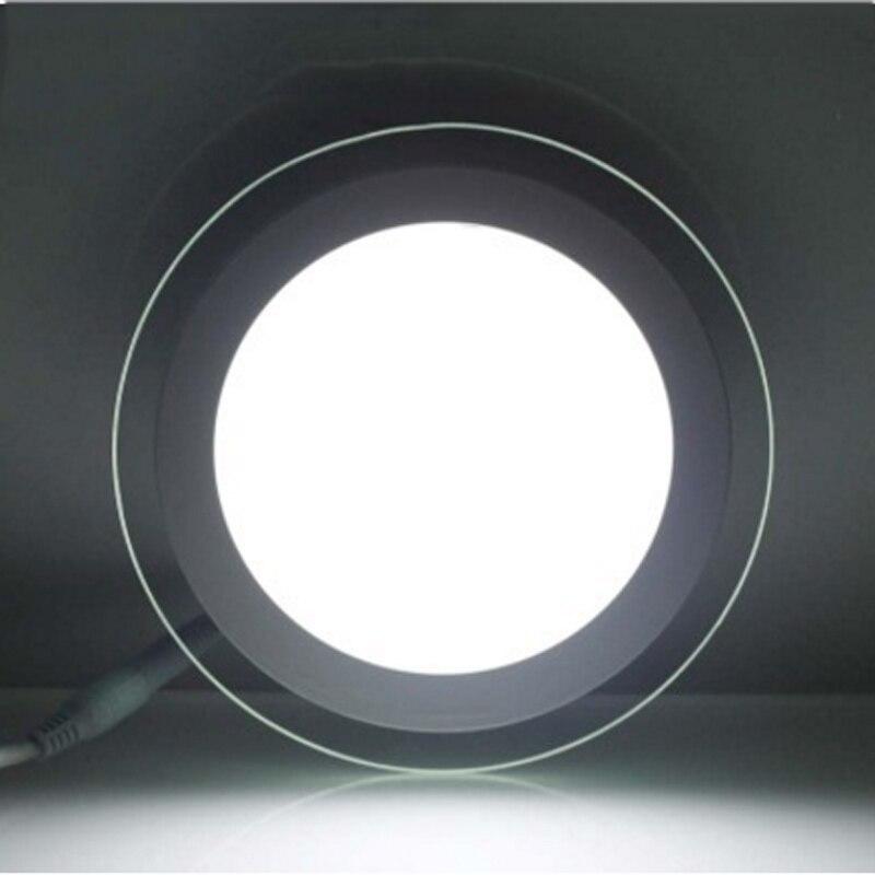 SPLEVISI Dimmable 6W 12W 18W LED Panel Downlight Round Glass Glass - Ներքին լուսավորություն - Լուսանկար 3