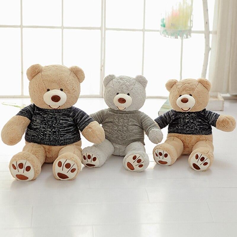 100cm 200cm america giant teddy bear plush toys soft teddy. Black Bedroom Furniture Sets. Home Design Ideas