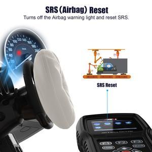 Image 4 - Ancel AD610 النخبة OBD2 سيارة تشخيص OBD 2 الماسح الضوئي محو وسادة هوائية تحطم البيانات ABS SAS كامل محرك السيارات الماسح الضوئي يعمل ل 68 سيارات