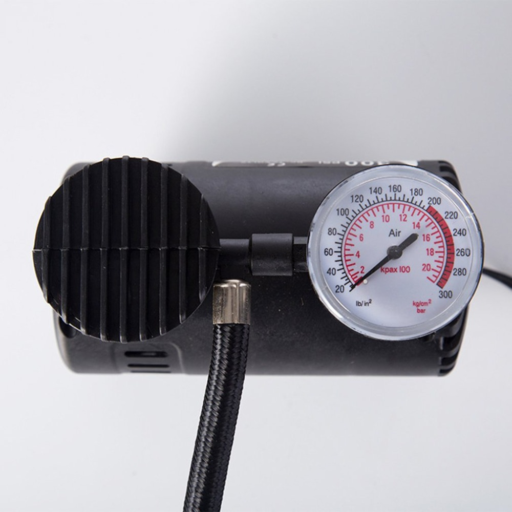 Locomotive Auto-Stop High Pressure Air Compressor Inflator Rifle Airgun Scuba Air Pump