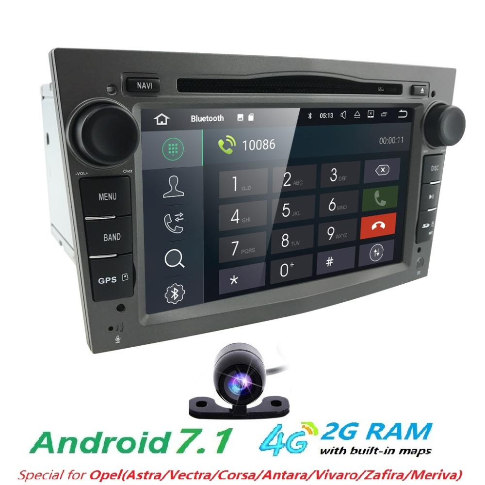 android7 1 2din dvd gps for vauxhall opel astra h g j. Black Bedroom Furniture Sets. Home Design Ideas