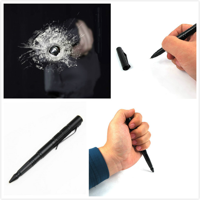 Self Defense Supplies Tactical Pen Self Defense Tool Security Protection Personal Defense Tool Tungsten Steel Defesa Pessoal