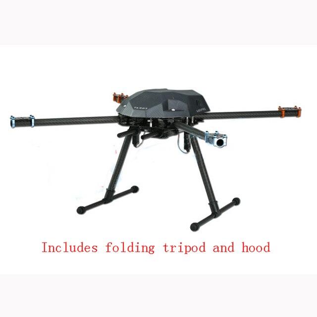 Ormino quadcopter marco tarot XS690 doblar tubo de carbono marco ...