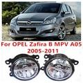 Для OPEL Zafira B MPV A05 2005-2011 10 Вт Противотуманные фары СИД DRL Дневные Ходовые Огни Стайлинга Автомобилей лампы
