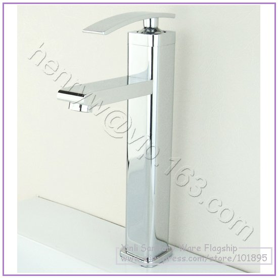 L16619-роскошный бортике хром Цвет латунь Материал горячей и холодной воды в туалете кран - Цвет: Светло-серый