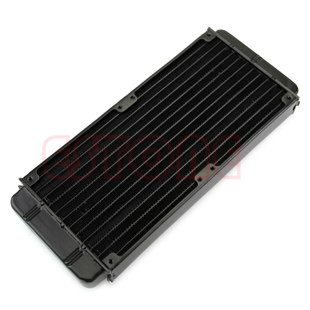 1Pc 240mm Aluminum Computer Radiator Water Cooling Cooler For CPU LED Heatsink New C26 2200rpm cpu quiet fan cooler cooling heatsink for intel lga775 1155 amd am2 3 l059 new hot