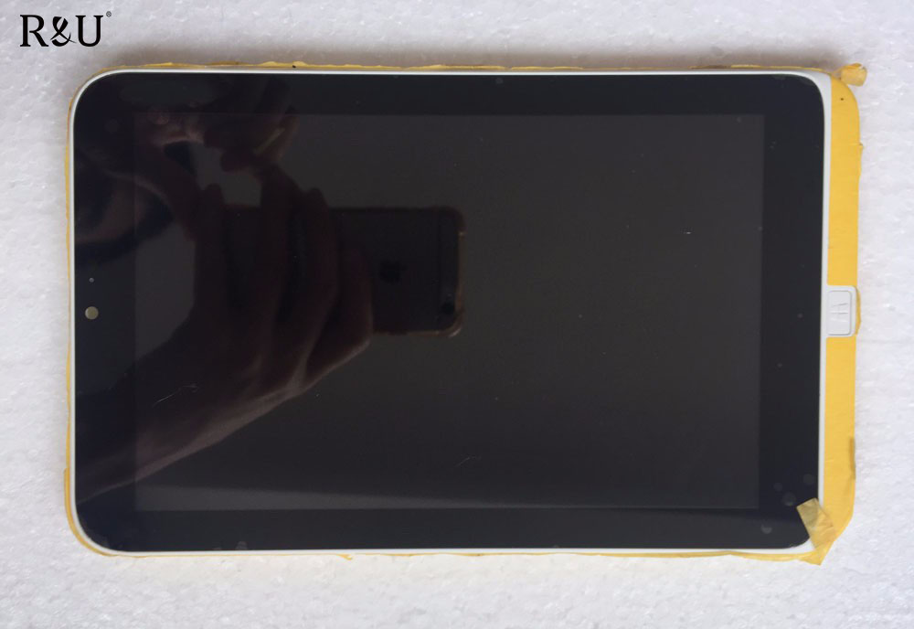 R&U 8 inch Full LCD Display Panel Touch Screen Digitizer with frame digitizer assembly for Acer Iconia W3 NCYG W3-810