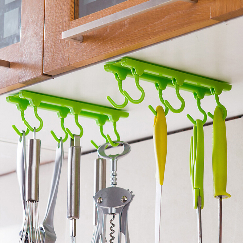 Kitchen Cabinets That Hang From The Ceiling: Kitchen Rack Holder Hook Ceiling Wall Cabinet Hanging