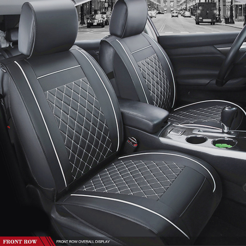 SCOTABC Water Resistant Seat Covers for toyota corolla Leather Seat Covers toyota auris estima corolla Funda Asiento Coche for toyota auris corolla saloon e15
