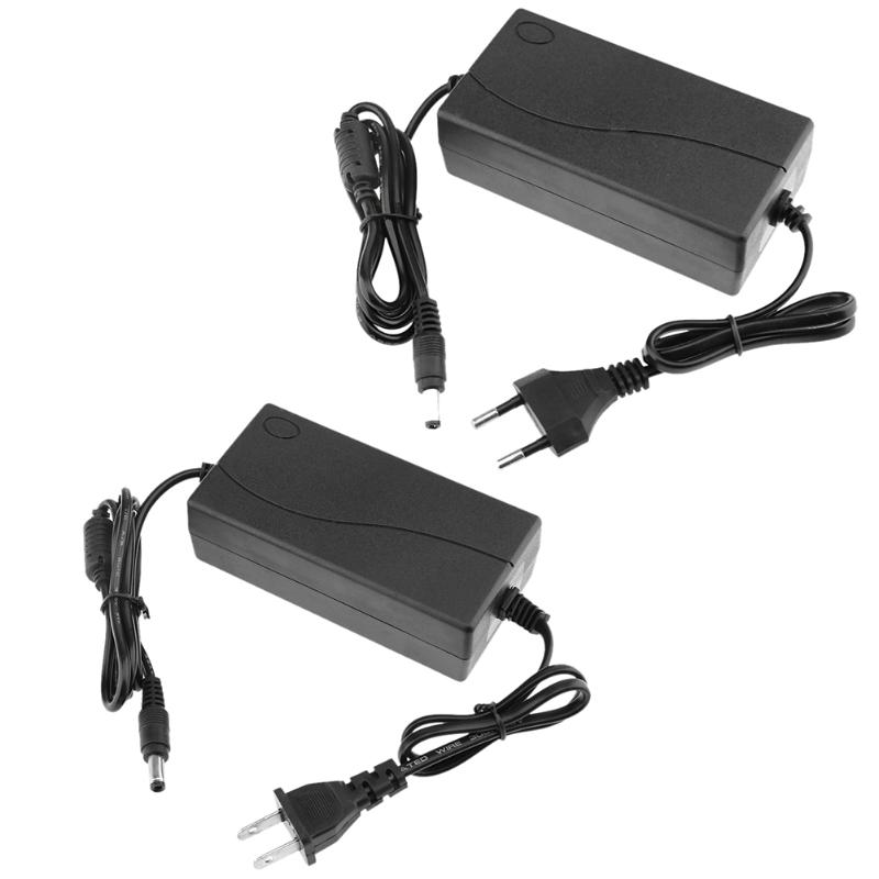 <font><b>48V</b></font> 2A AC/DC Power Adapter Converter Power Supply Charger Charging <font><b>Adaptor</b></font> 5.5*2.5mm for POE Switch EU US Standard Plug image