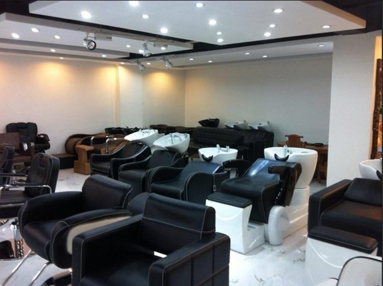 Купить с кэшбэком Model selling luxury european-style hairdressing chair retro hair salons dedicated haircut chair