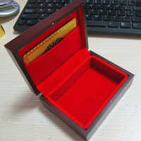 Party Storage Case Playing Cards Box Gift High End Wooden Container Packing Poker Durable Vintage Holder Organizer Handmade