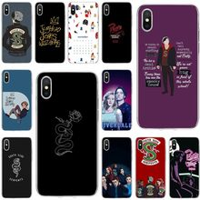 American TV Riverdale Cover Soft Silicone TPU Phone Case For iPhone 5 5S 5C SE 6 6plus 7 8plus X XS XR XS Max(China)