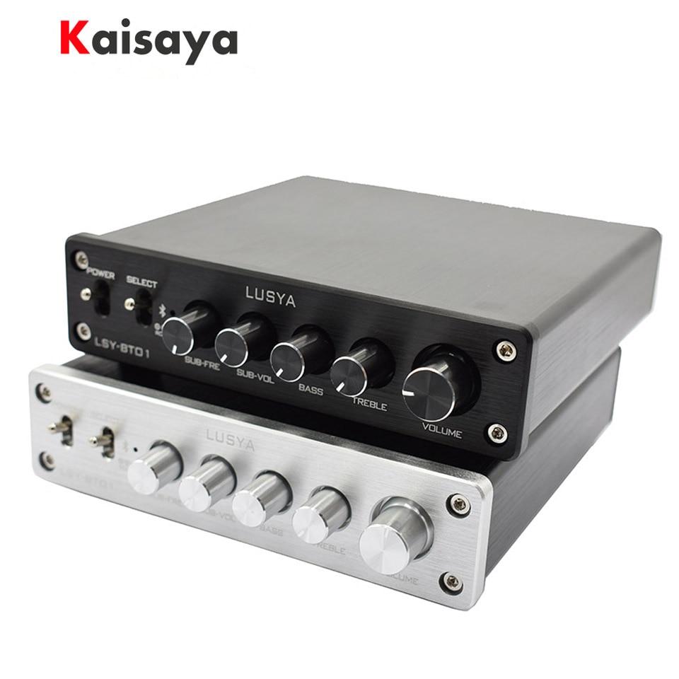 CSR8635 Bluetooth 4.0 TPA3116 2.1 High power HIFI Subwoofer amplifier board Class D amplificador audio 2 * 50W +100W B2-004CSR8635 Bluetooth 4.0 TPA3116 2.1 High power HIFI Subwoofer amplifier board Class D amplificador audio 2 * 50W +100W B2-004