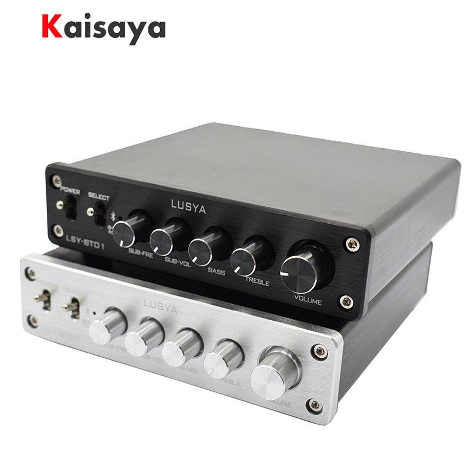 QCC3003  Bluetooth 5.0 TPA3116 2.1 High Power HIFI Subwoofer Amplifier Board Class D Amplificador Audio 2 * 50W +100W H2-005