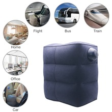 Inflatable Foot Rest Cushion for Under Desk Leg Support Pillow Knee Sciatica Hip Joint Ankle Pain Relief Car Airplane Pillows