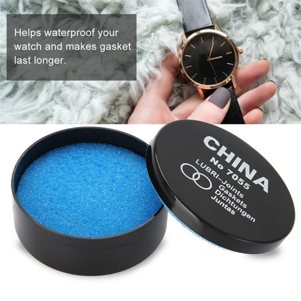 Waterproof Paste Watch Repair Grease Gasket Lubricant Sealer Lubricate With Silicone Grease Oil Watch Repair Tools Kit