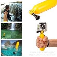50 шт. новый go pro легкий плавающей рукоятки для gopro hero 3 + 3 2 1 Плавучести Бар Придерживайтесь Ручка Гора Спорт Камеры Поплавок + ремень