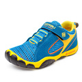 Aercourm um verão malha crianças sapatilhas de couro genuíno casual criança shoes sport boys shoes respirável macio menina running shoes