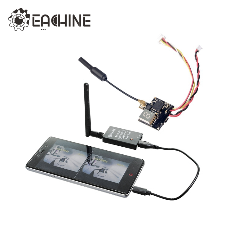 Eachine ATX03 ROTG01 Mini 5.8G 72CH Switchable FPV AV VTX RX Combo For Android Smartphone Tablet for RC Racing Drone Quadcopter