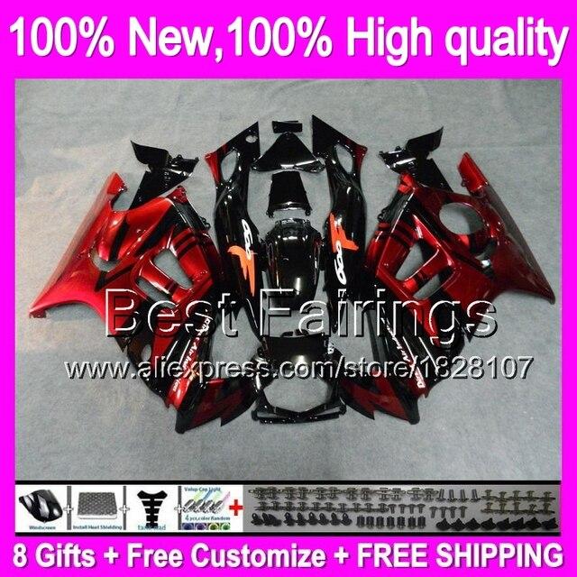 Fairing Dark Red For Honda Cbr600f3 97 98 Cbr600rr 20b19 Dark Red