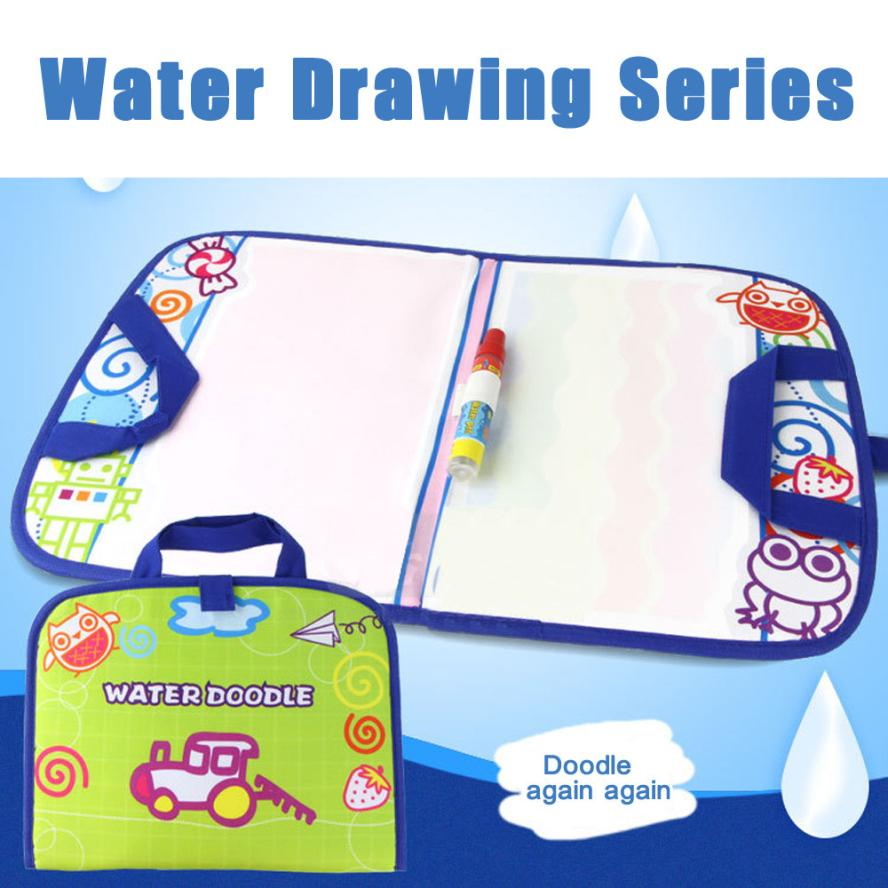 Doodle Graffiti Writing Travel Water Drawing Mat Series With 1 Pen Drawing Sets Y921