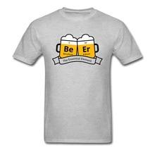 лучшая цена Beer The Essential Element Beryllium Erbium T Shirt Oktoberfest Beer Festival Print Tshirt For Men 100% Cotton Gift Great Tshirt