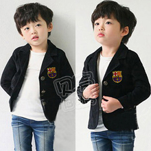 2016 spring preppy style male children's clothing baby boy long-sleeve suit jacket