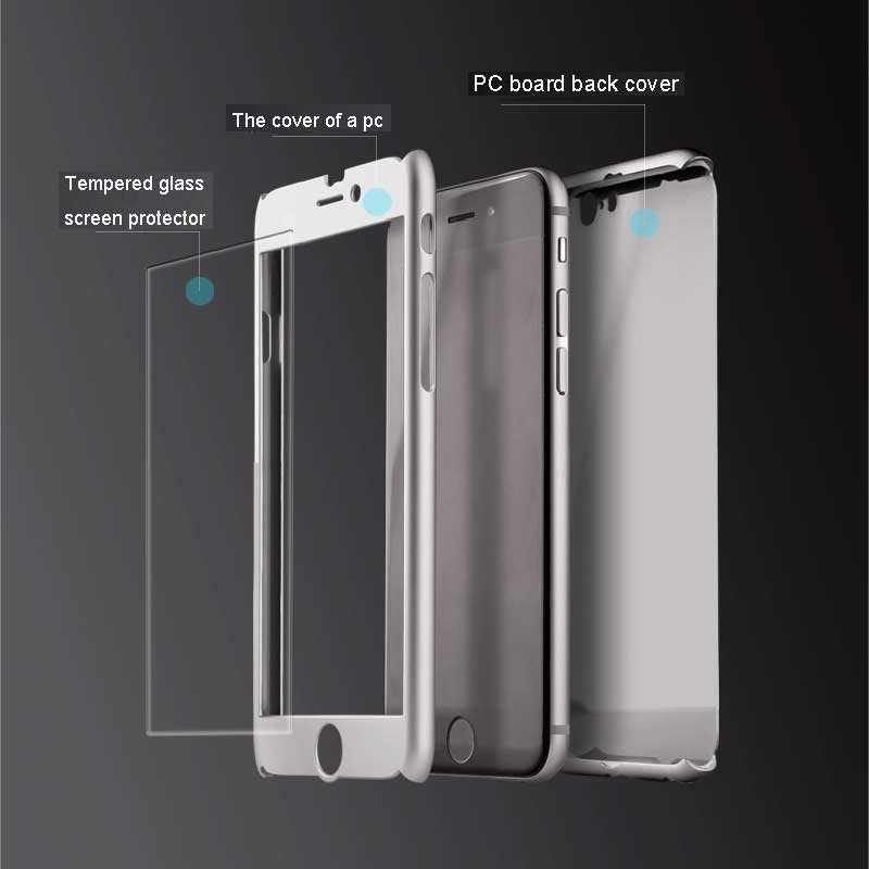 iphone 6 case and glass screen protector
