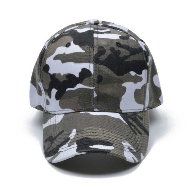 Snow Camo Baseball Cap Men Tactical Cap Camouflage Snapback Hat For Men High Quality Bone Masculino Dad Hat Trucker
