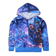 EMS/DHL Free shipping 2017 New Dream to cartoon wholesale COCO Coat Children Cardigan Sweater Hoodie