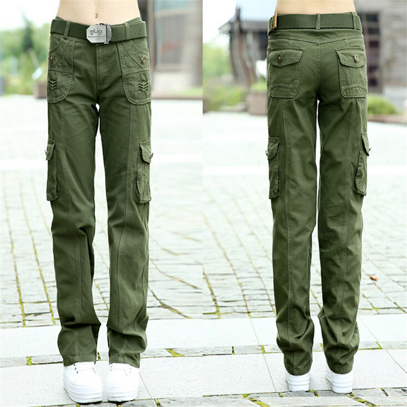 Excellent Womens Olive Green Cargo Pants  Pant Olo
