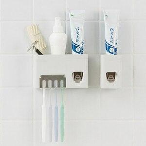 Image 3 - חם חדש צינור אוטומטי אוטומטי מסחטת משחת שיניים Dispenser ידיים משלוח לסחוט G604