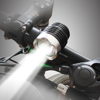 T6 Bicycle Light HeadLight 2200 Lumens 3 Mode Waterproof Bike Front Light LED HeadLamp ZK91