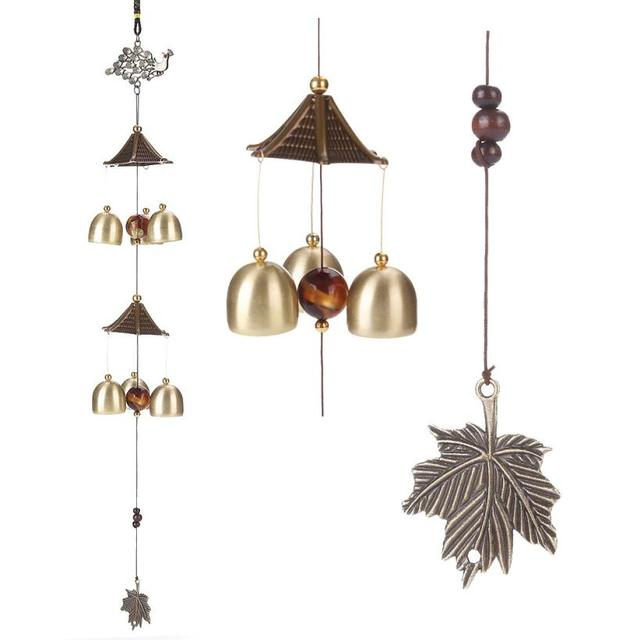 6 style beautiful amazing chime grace collection great sound bronze color bells wind chimes home decoration - Home Designs Grace Collection