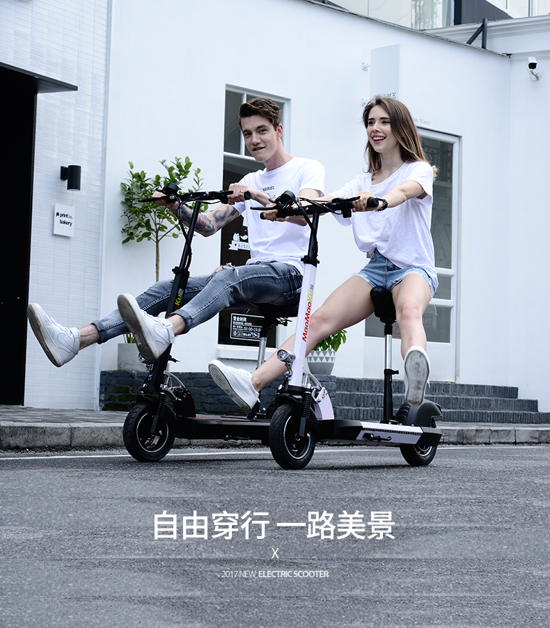 HTB1h0BLgWigSKJjSsppq6ybnpXaw - 10inch electric scooter 48V lithium battery electric bicycle 500w high speed 100km range sctooer  max speed 45-50km/h