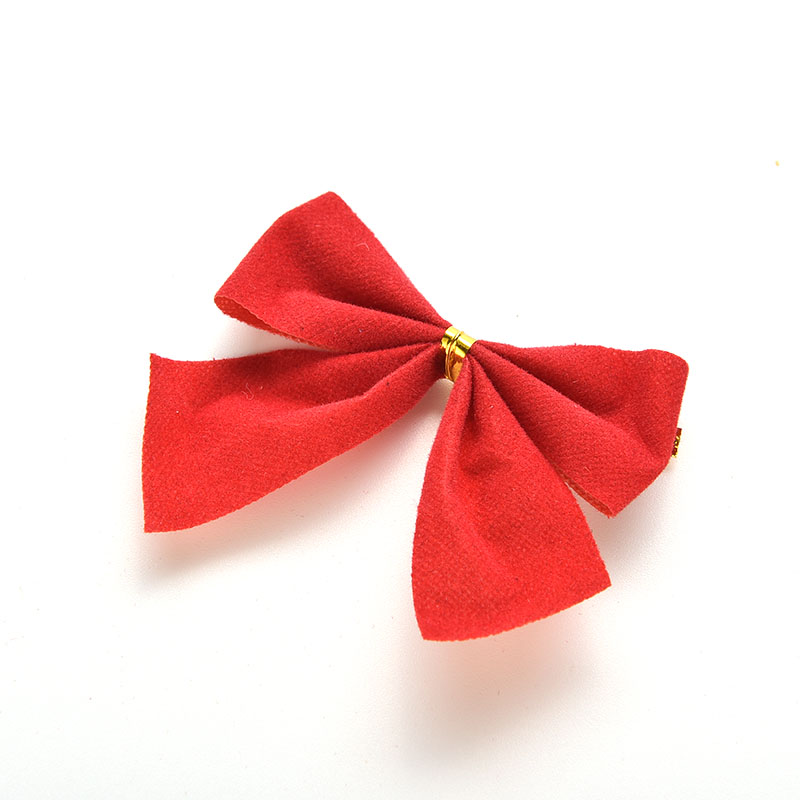 Christmas Tree Bows Decorations: 1 Pcs Christmas Tree Bow Decoration Baubles Red Bowknot