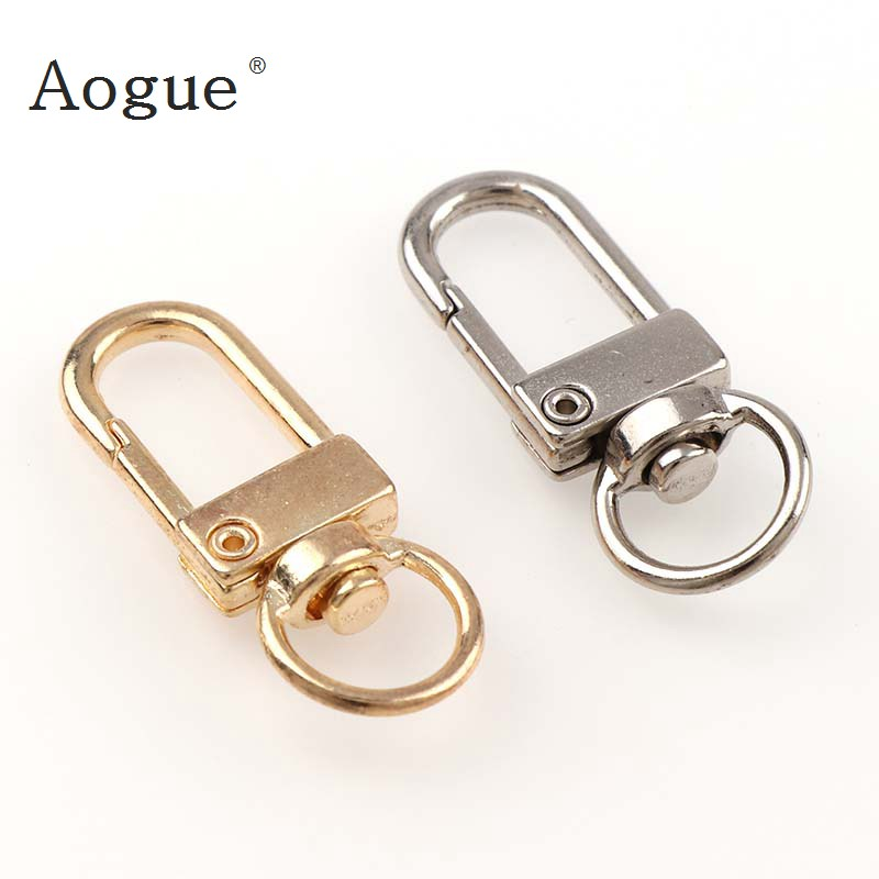 5Pcs Metal Key Chain Holder Swivel Trigger Lobster Clasp Snap Hook Key Chain Rings For DIY Craft Outdoor Backpack Bag Parts 30pcs high quality 13mm top ending gold silver tone trigger diy snap hook clasp metal clip swivel dog leash